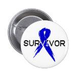 Blue Ribbon -Survivor Pins