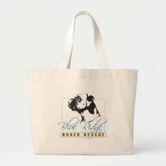 Blue Ridge Boxer Rescue Large Tote Bag