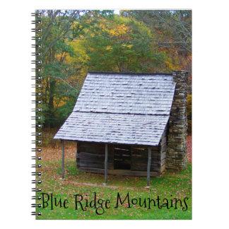 Blue Ridge Cabin notebook