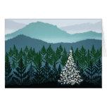 Blue Ridge Christmas greeting card
