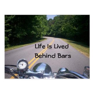 Blue Ridge Motorcycle Ride 3 Post Card