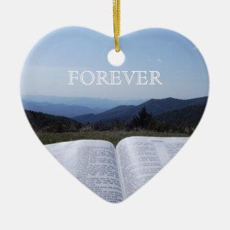 Blue Ridge Mountain Heart Ornament  Robin Ayscue