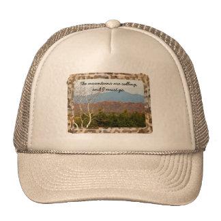 Blue Ridge Mountains Are Calling Quote   Nature Cap