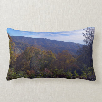 Blue Ridge Mountains Panorama Lumbar Pillow