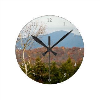 Blue Ridge Mountains VA Shenandoah Valley Photo Wall Clocks