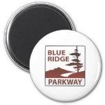 Blue Ridge Parkway Highway Road Trip Refrigerator Magnet