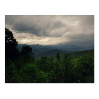 Blue Ridge Parkway, North Carolina postcard