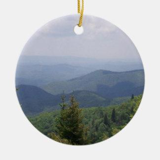Blue Ridge Parkway Scenic Route Christmas Ornament