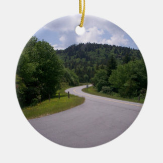 Blue Ridge Parkway Scenic Route Christmas Ornament