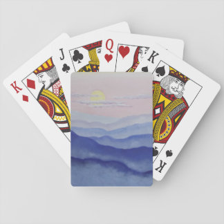 Blue Ridge Sunrise Playing Cards