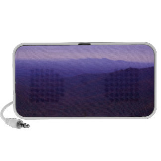 Blue Ridge Violet Mountains iPod Speakers