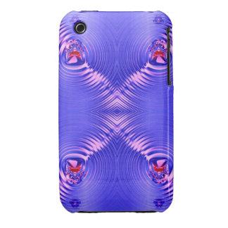 Blue ripple iPhone 3 Case-Mate case