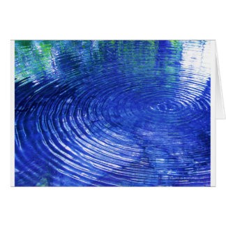 Blue Ripples Card