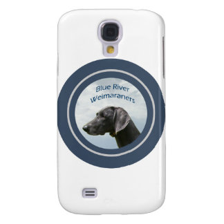Blue River Weims logo Samsung Galaxy S4 Cases