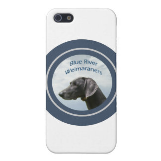 Blue River Weims logo Case For The iPhone 5