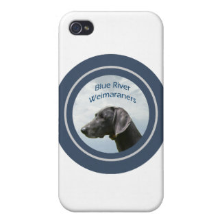 Blue River Weims logo iPhone 4 Cover