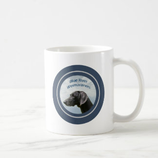 Blue River Weims logo Mugs