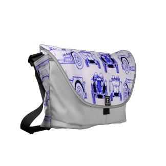 Blue Roadsters Messenger Bags