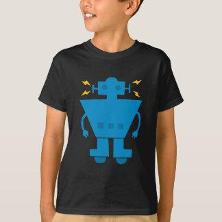 Blue Robot, cartoon, retro, cute T-Shirt