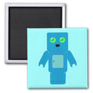 Blue Robot Magnet
