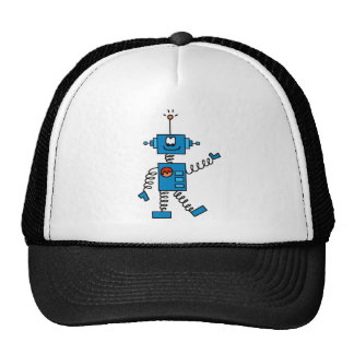 Blue Robot Tshirts and Gifts Cap