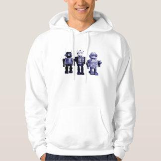 blue robots sweatshirt