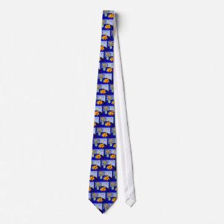 Blue Room # 1 Tie