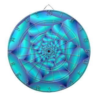Blue Rope Spiral Dartboard