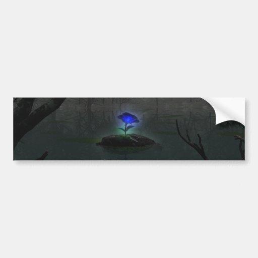 Blue Rose Bumper Sticker