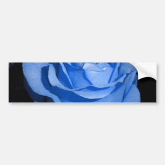 Blue Rose Bumper Sticker
