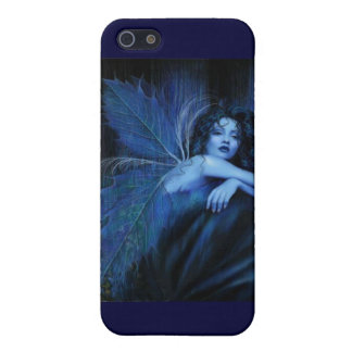 Blue rose fairy iPhone 5 covers