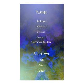 Blue Rose Mist Business Card