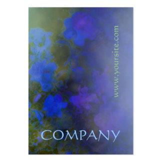 Blue Rose Mist Business Card Template