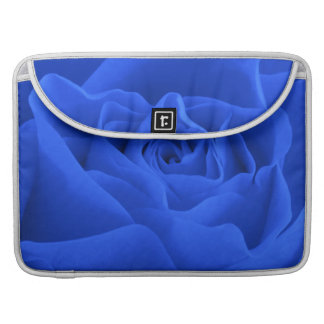 Blue Rose Petals Sleeve For MacBooks