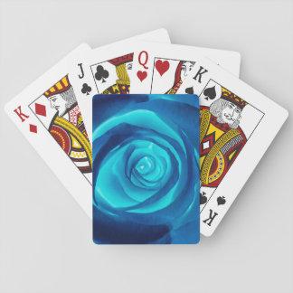 Blue Rose - Poker Deck