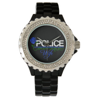 Blue Rose POLICE WIFE Watch