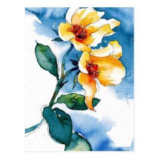 blue rose postcards