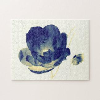 Blue Rose Puzzle