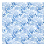 Blue Rose Wallpaper Pattern Personalized Invites