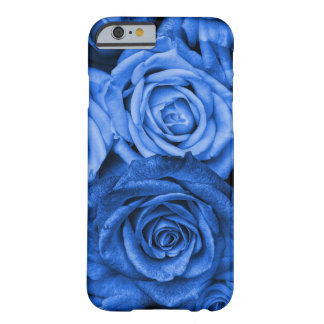 Blue Roses Barely There iPhone 6 Case