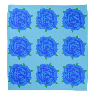 Blue Roses Breakout on Bandana