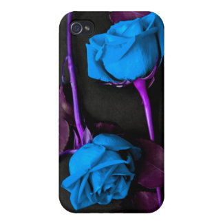 Blue Roses iPhone4 Case Covers For iPhone 4