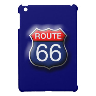 Blue Route 66 iPad Mini Hard Case iPad Mini Covers