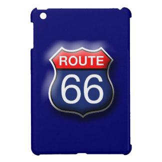 Blue Route 66 iPad Mini Hard Case iPad Mini Covers