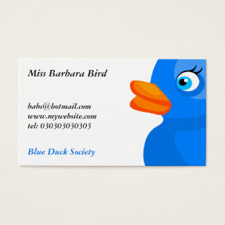 Blue Rubber Duck, Business Card