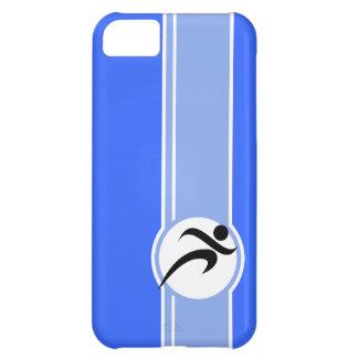 Blue Running iPhone 5C Case