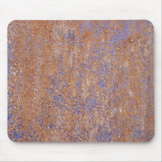 Blue Rust Mouse Pad