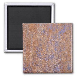 Blue Rust Refrigerator Magnets