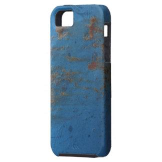 Blue Rusty Metal Texture iPhone 5 Case