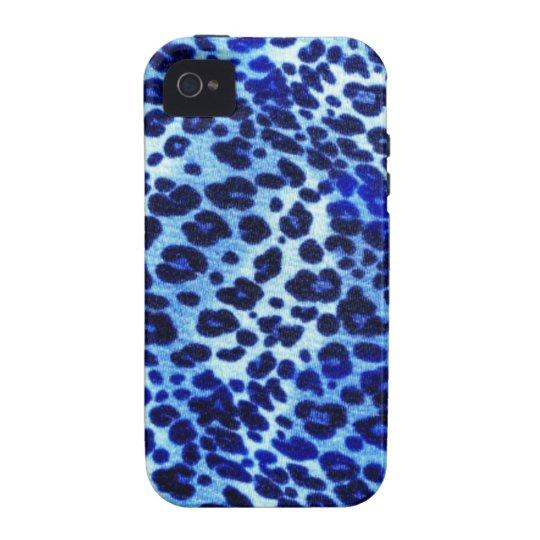 Blue safari Art iPhone 4 Cases
